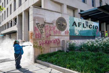 AFL-CIO; Graffiti
