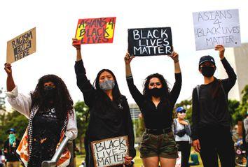 Asians 4 Black Lives; Black Lives Matter; Protest
