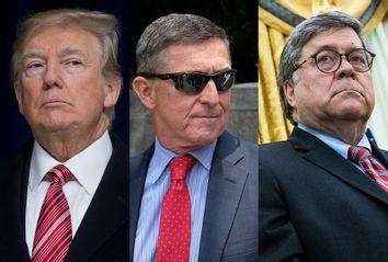 Donald Trump; Michael Flynn; Bill Barr