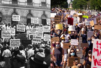 Bonus Army; Black Lives Matter; Lafayette Square; Protest