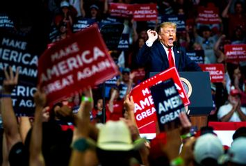 Donald Trump; rally; Tulsa, OK