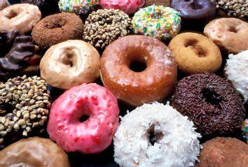 Various types of doughnuts