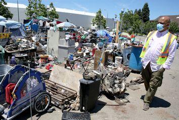 Homeless Camp; Oakland