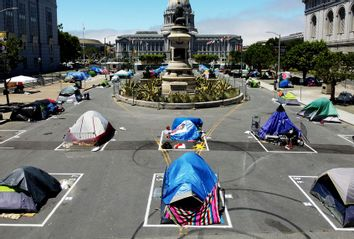 Homeless Encampment; Bay Area