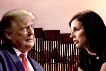 Donald Trump; Martha McSally; border wall