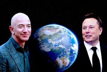 Elon Musk; Jeff Bezos