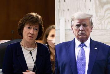 Susan Collins; Donald Trump