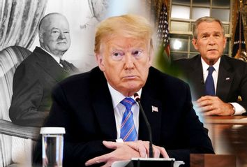 Donald Trump; Herbert Hoover; George W. Bush