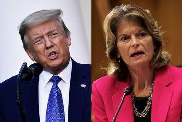 Donald Trump; Lisa Murkowski
