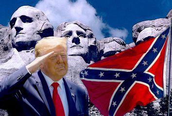 Donald Trump; The Confederate Flag; Mt. Rushmore