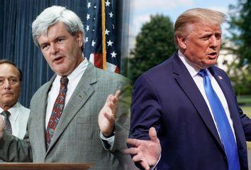 Newt Gingrich; Donald Trump