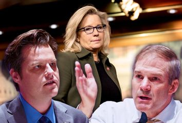 Matt Gaetz; Jim Jordan; Liz Cheney