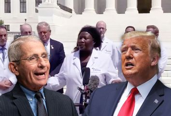 Stella Immanuel; Donald Trump; Anthony Fauci