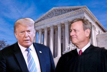 Donald Trump; John Roberts; SCOTUS
