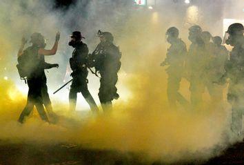 Police; Tear Gas