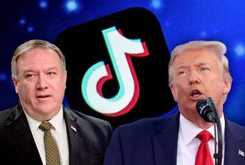 Donald Trump; Mike Pompeo; TikTok