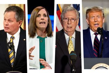 Steve Daines; Martha McSally; Mitch Mcconnell; Donald Trump