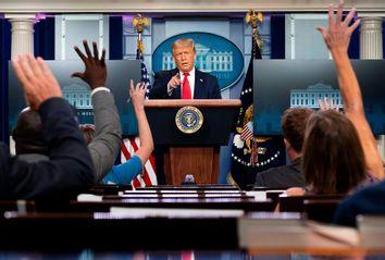 Donald Trump; Press