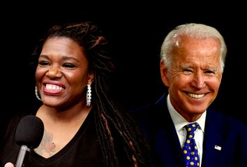 Joe Biden; Cori Bush