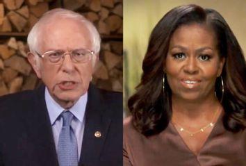 Bernie Sanders; Michelle Obama