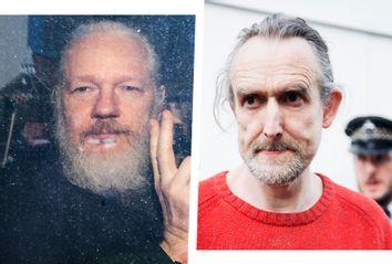 Julian Assange; Roger Hallam