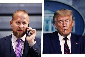 Brad Parscale; Donald Trump