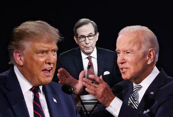 Donald Trump; Joe Biden; Chris Wallace
