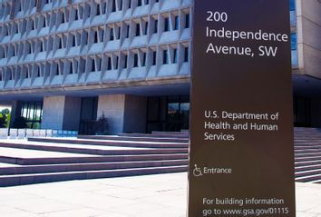 U.S. Department of Health and Human Services building