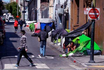Homeless; San Francisco