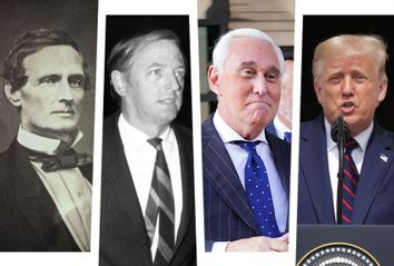 Jefferson Davis; William F Buckley; Roger Stone; Donald Trump