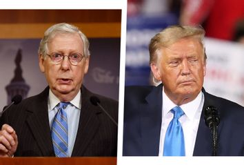 Mitch McConnell; Donald Trump