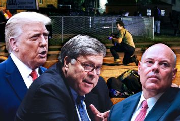 Donald Trump; Bill Barr; Louis DeJoy; Kyle Rittenhouse