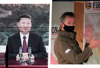 Xi Jinping; Gavin Newsom
