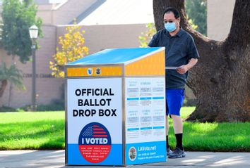 Ballot Drop Box; California