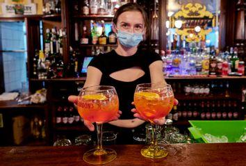 Bar During Pandemic