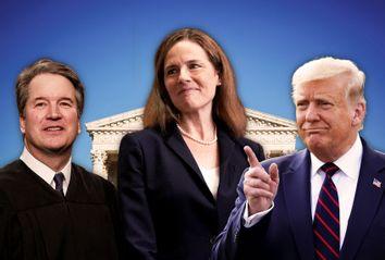 Amy Coney Barrett; Brett Kavanaugh; Donald Trump