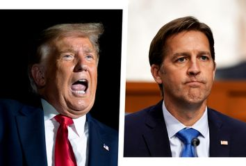 Donald Trump and Ben Sasse