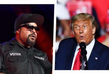Ice Cube; Donald Trump