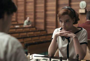 Anya Taylor-Joy as Beth Harmon in