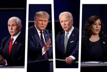 Mike Pence; Donald Trump; Joe Biden; Kamala Harris