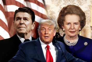 Donald Trump; Ronald Reagan; Margaret Thatcher