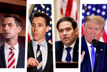 Tom Cotton; Josh Hawley; Marco Rubio; Donald Trump