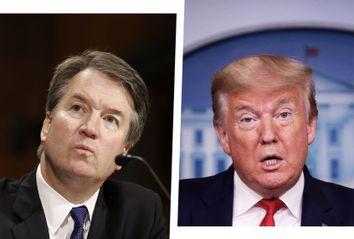 Brett Kavanaugh; Donald Trump