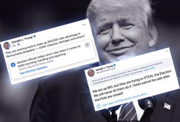 Donald Trump; Facebook; Twitter