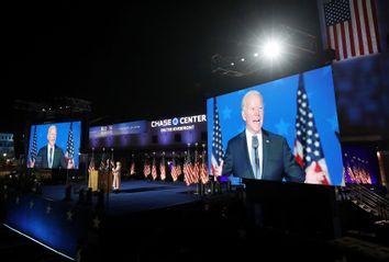 Joe Biden; Election Night 2020