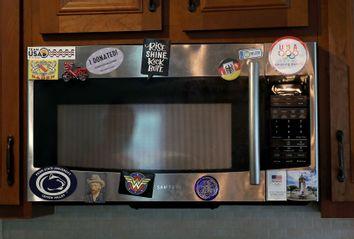 Olympic cyclist Mandy Marquardt's microwave