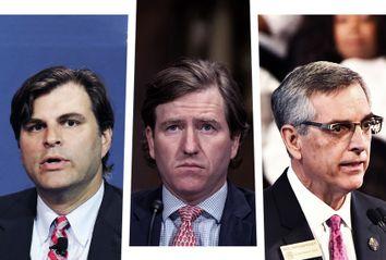Ned Staebler; Chris Krebs; Brad Raffensperger