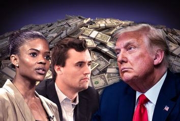 Donald Trump; Charlie Kirk; Candace Owens