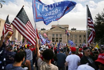 Trump Supporters; Stop The Steal rally