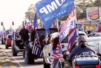 Trump Supporters; Trump Caravan